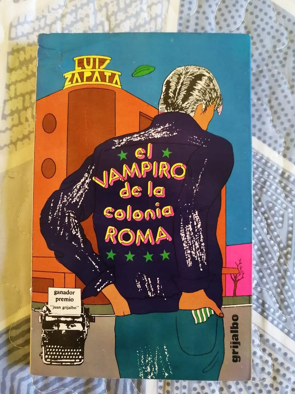 libro Vampiro colonia Roma