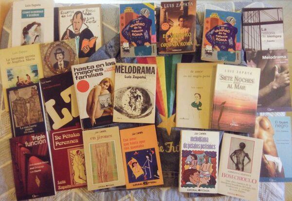 libros luis zapata