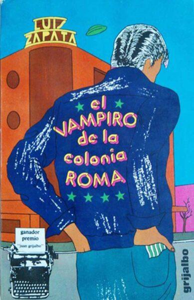 portada novela vampiro colonia roma