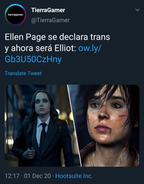 nombre muerto personas trans TierraGamer