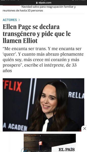 nombre muerto personas trans El Pais