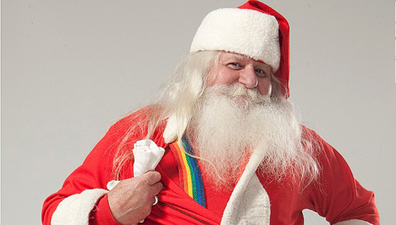 Santa Claus Navidad carta niño gay