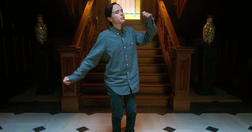 Elliot Page trans clóset serie umbrella academy