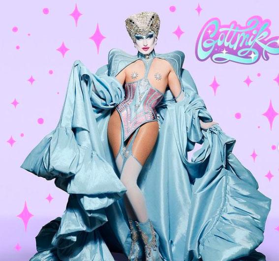 gottmik drag queen artista maquillaje rupaul