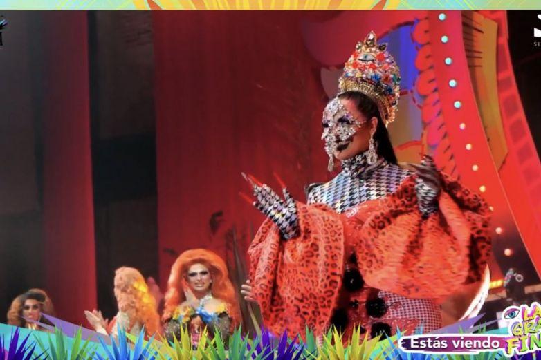 aviesc who coronacion en vivo vestido