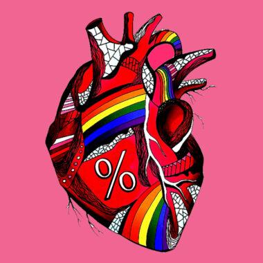 test porcentaje heterosexualidad corazón LGBT+