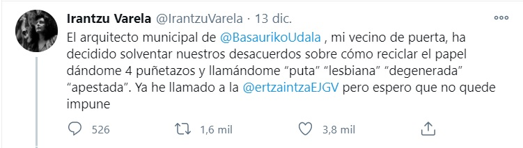 Publicación Irantzú Varela