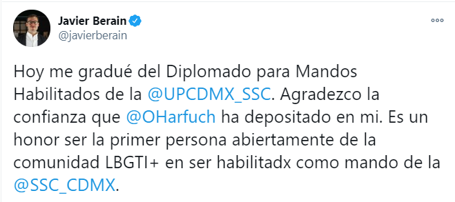 Javier Berain SSC CDMX