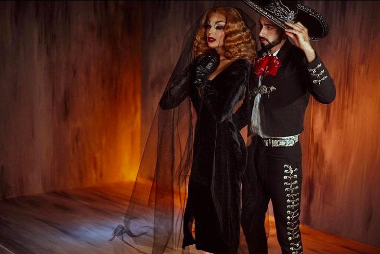 Valentina mexico marichi drag queen fuego foto