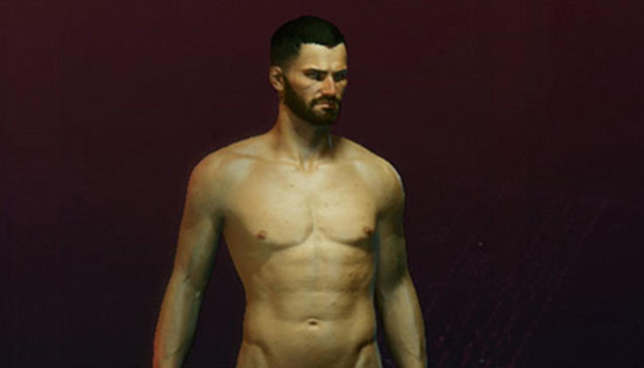 cyberpunk videojuego porno gay desnudo hombre
