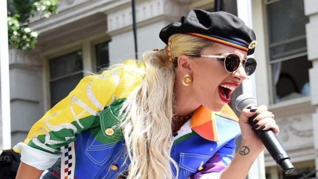 celebridades pro LGBT inauguración presidencial 2021 lady gaga gay support