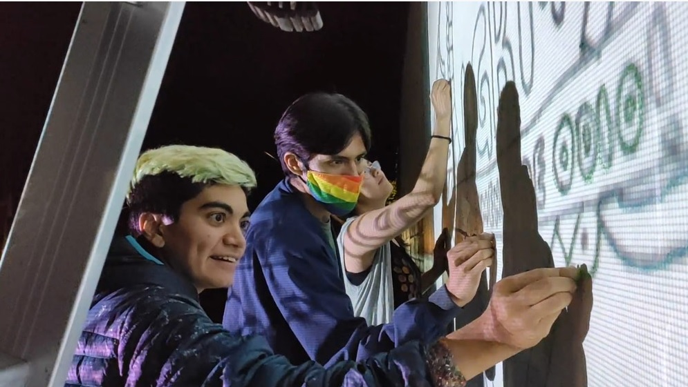 Activistas colectiva Chuvajetik