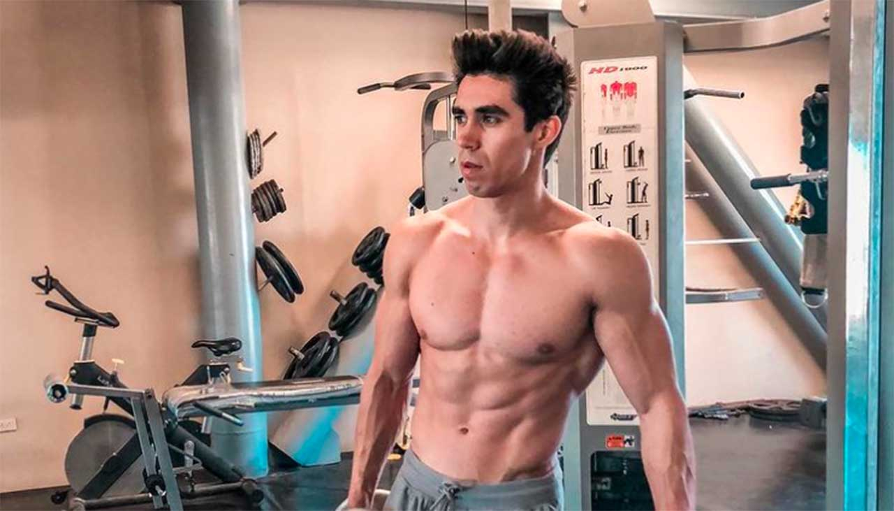 Daniel Corral atletas guapos