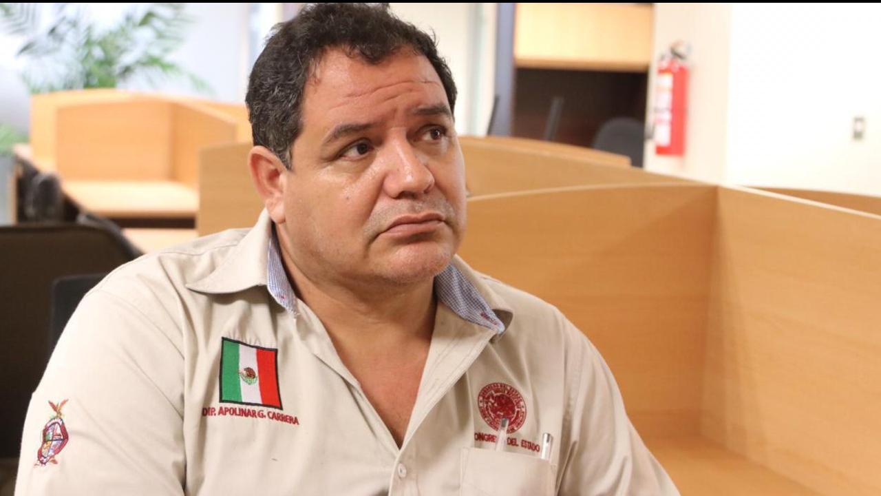 Apolinar García Carrera Diputado homofóbico del Congreso de Sinaloa