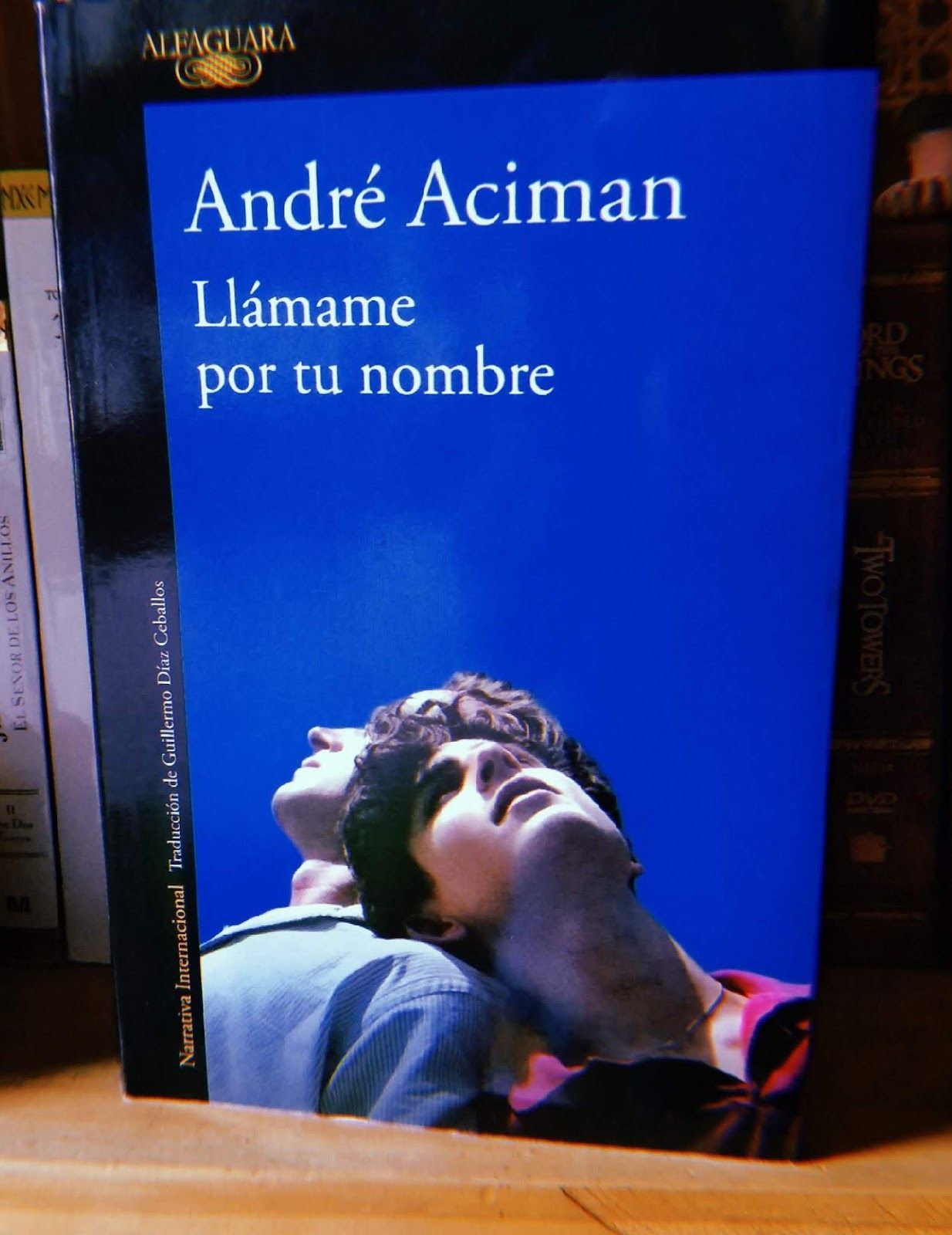 Libros LGBT+ best sellers Call Me By Your Name