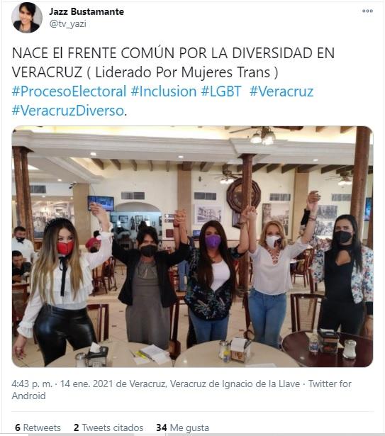 Mujeres trans de Veracruz luchan por espacios en puestos de toma de decisiones