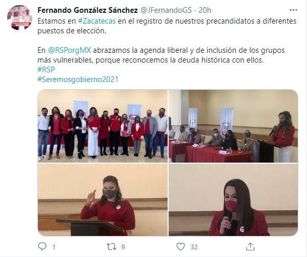 mujer trans precandidata al Gobierno de Zacatecas