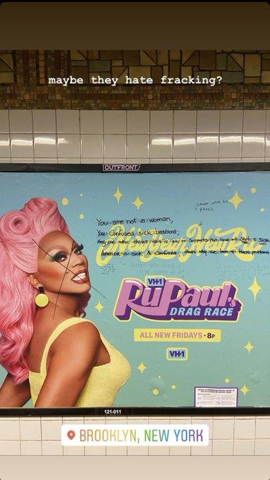 anuncio publicitario rupaul brooklyn