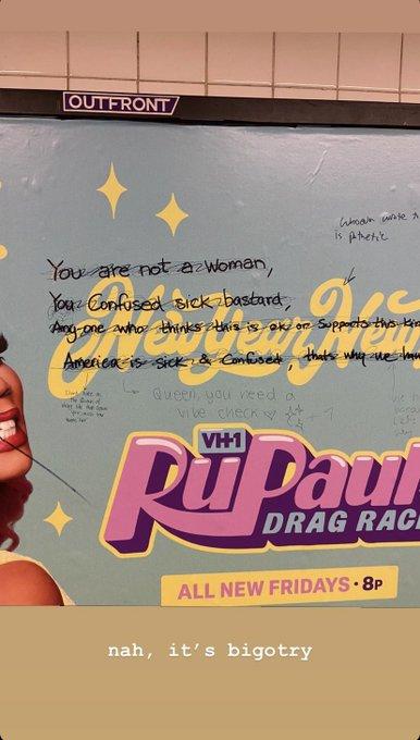 detalle mensaje homofobicos drag race
