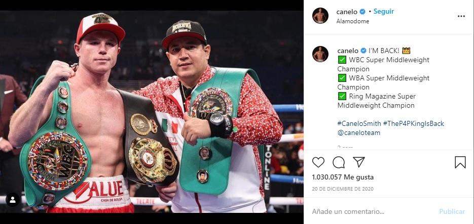 Canelo Álvarez boxeador