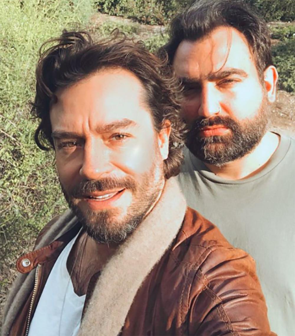 Juan Pablo Espinosa y su novio