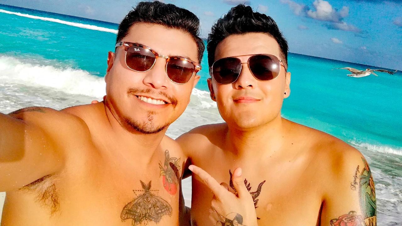 Romance universitario termina en boda maya