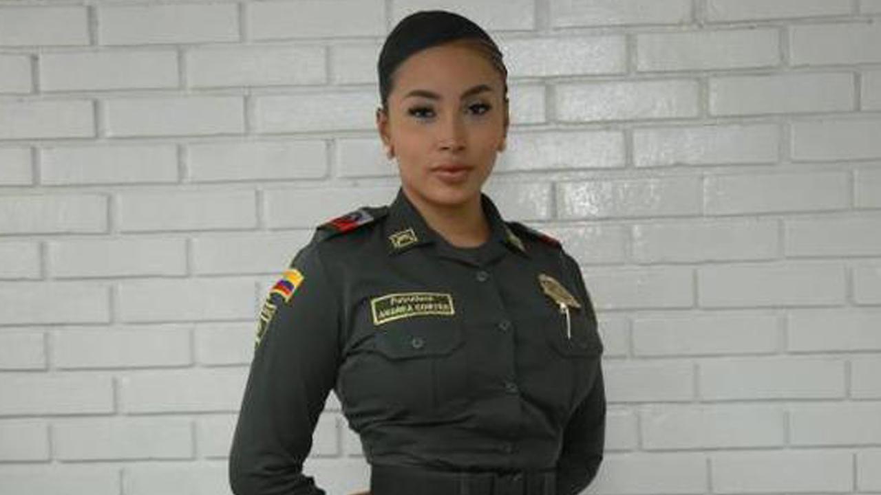Andrea Cortés mujer trans policía