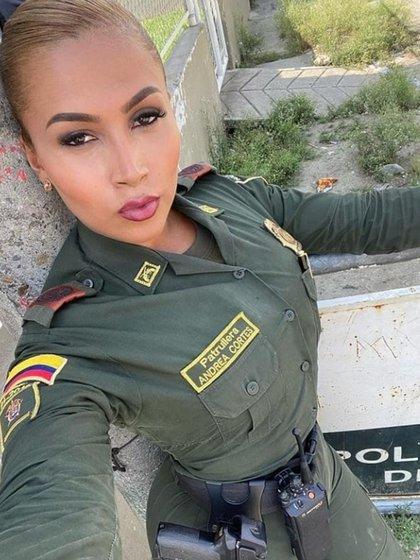 Policía trans Colombia