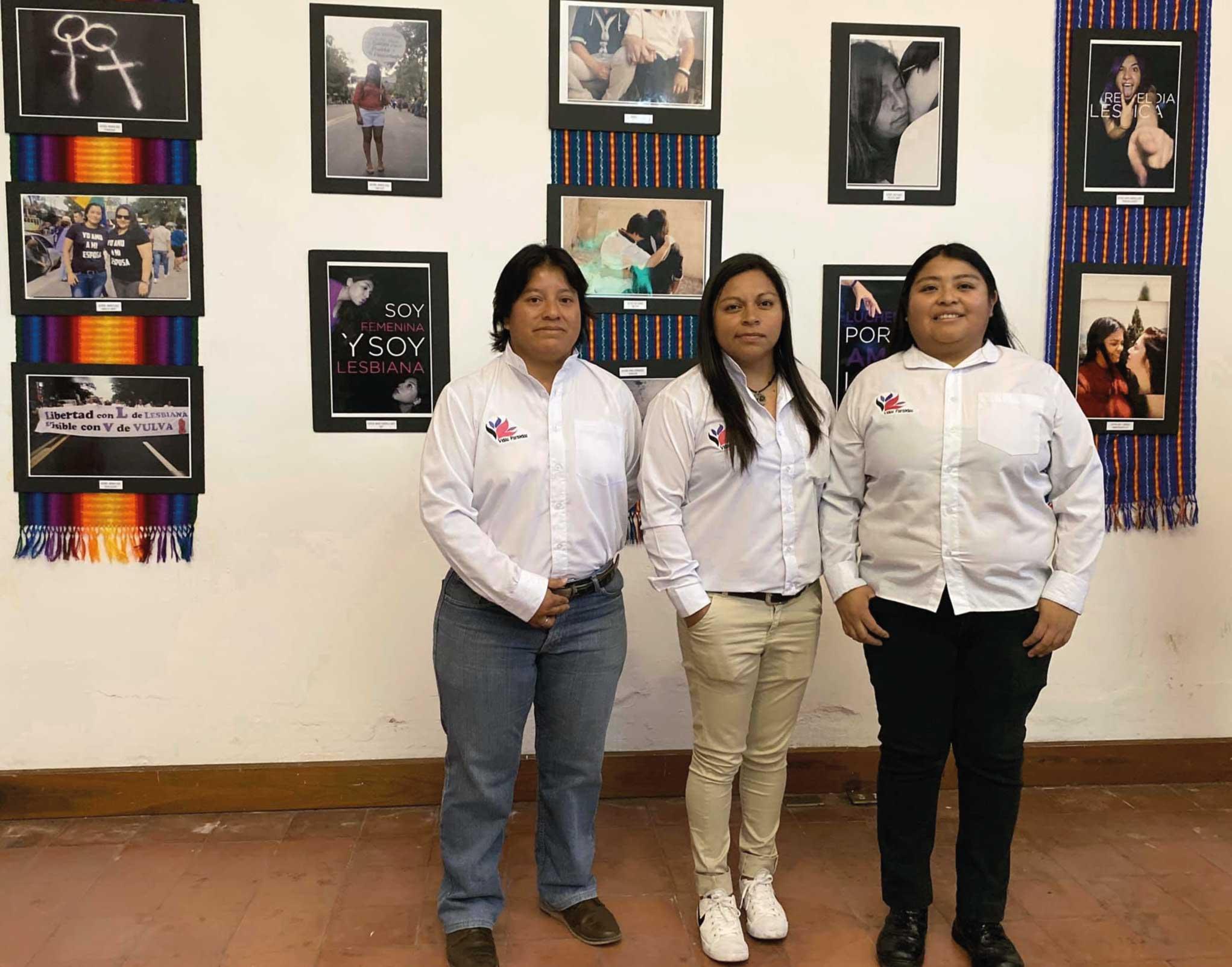 Andrea Díaz mujeres Indígenas LGBT+