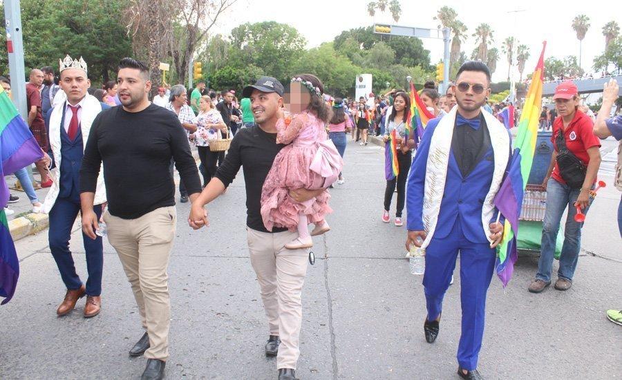 marcha LGBT+ en Guanajuato