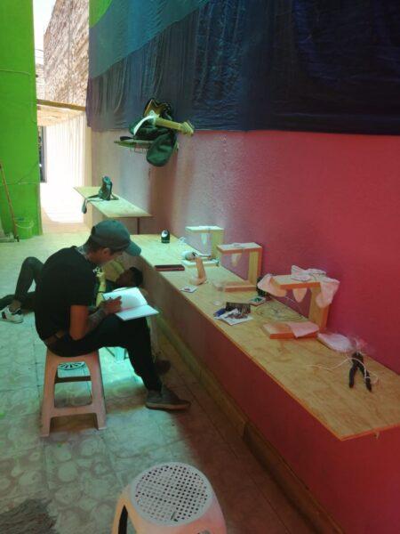 Actividades personas con vih en CAVA Aguascalientes