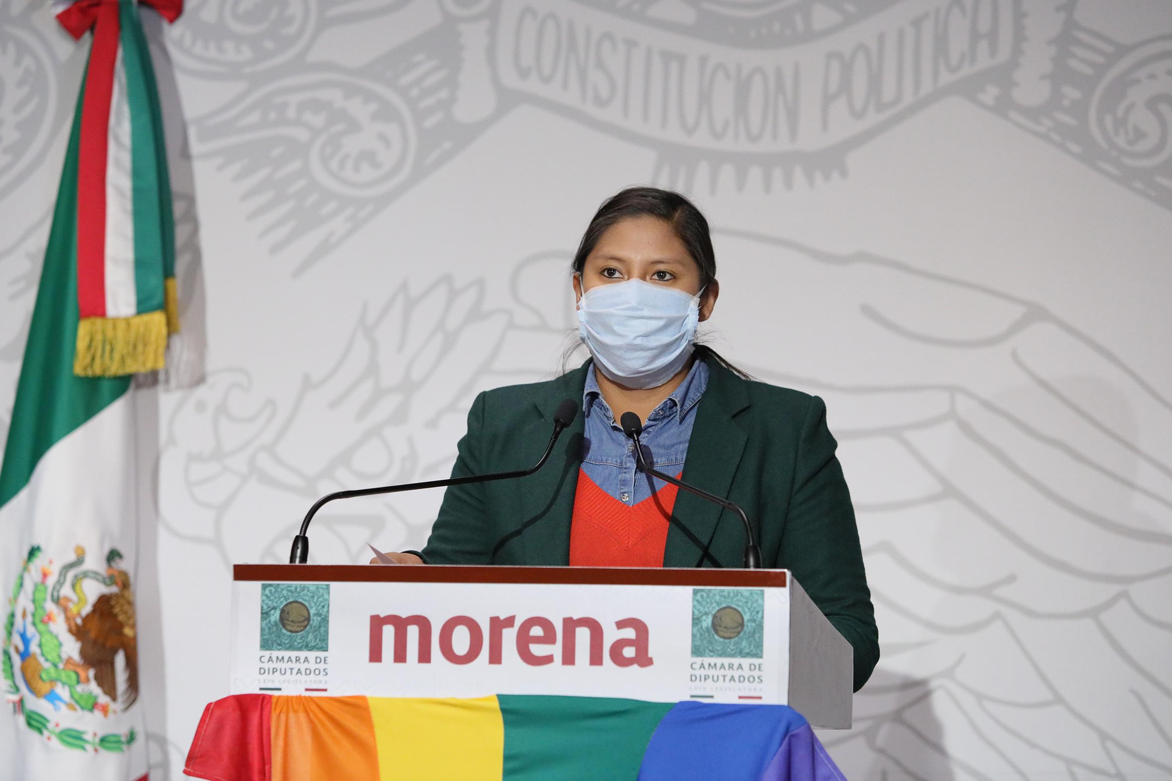 Celeste Ascencio mujeres LGBT+ indígenas