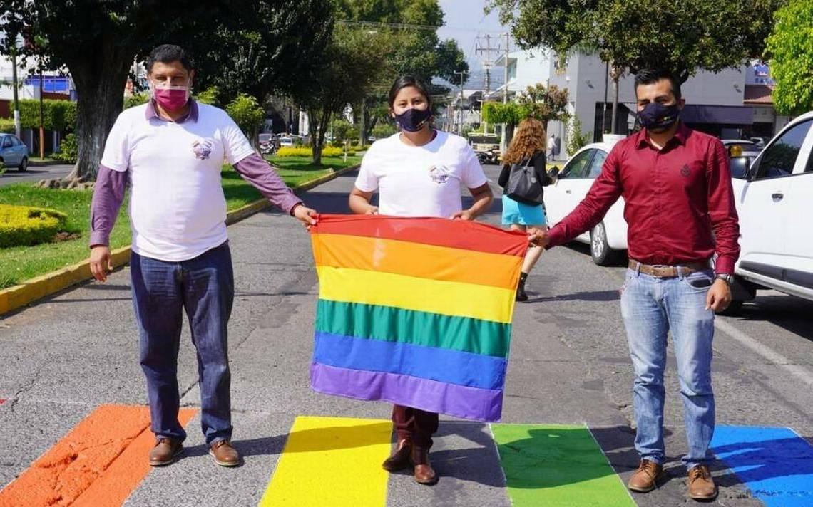 Celeste Ascencio apoya a la comunidad LGBT+