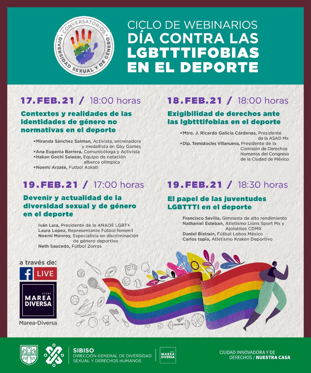 Conversatorios Anade homofobia deporte