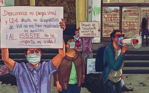 desabasto medicamento antirretrovirales 2021 VIH México