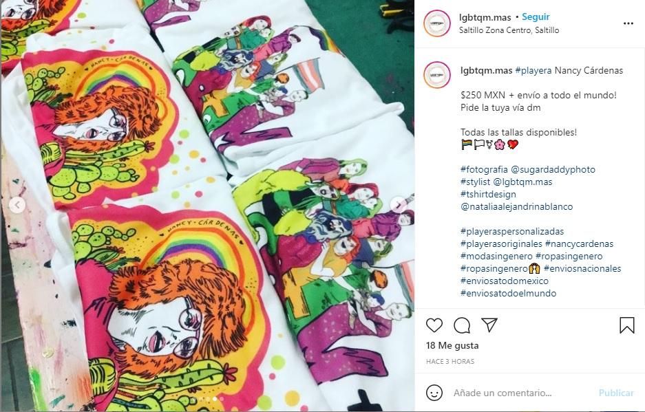 Diseños de playeras LGBTqm+