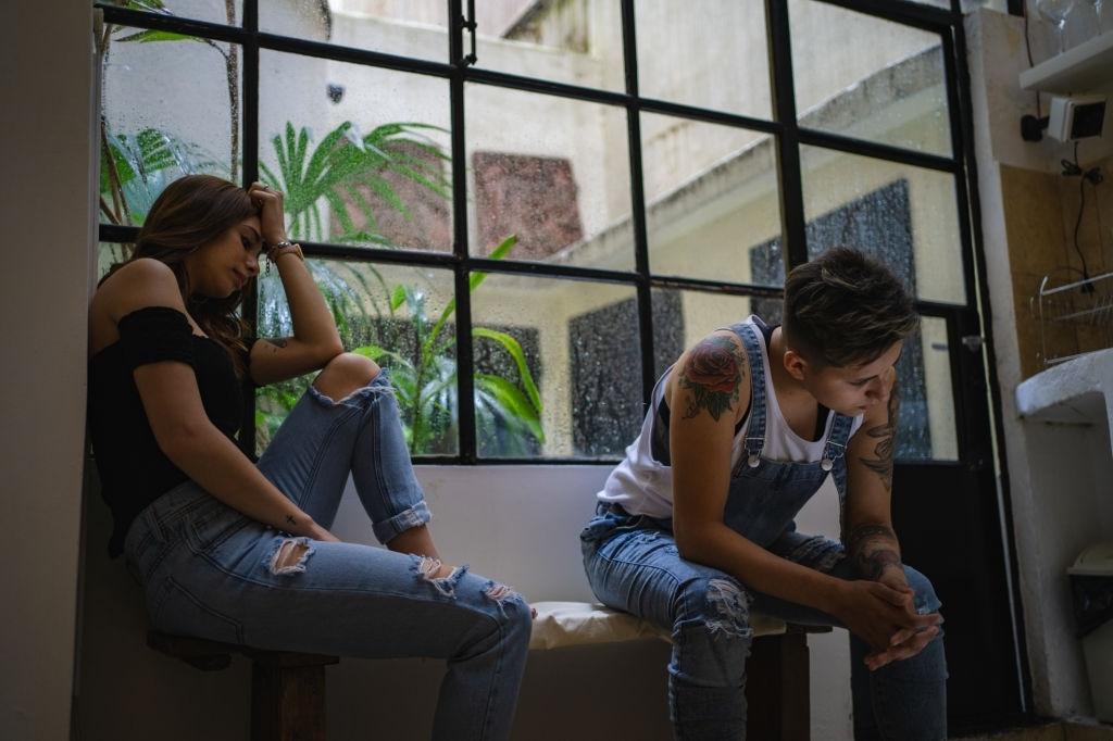 Divorcio entre parejas de lesbianas