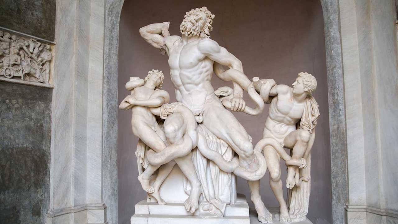 esculturas griegas pene chico