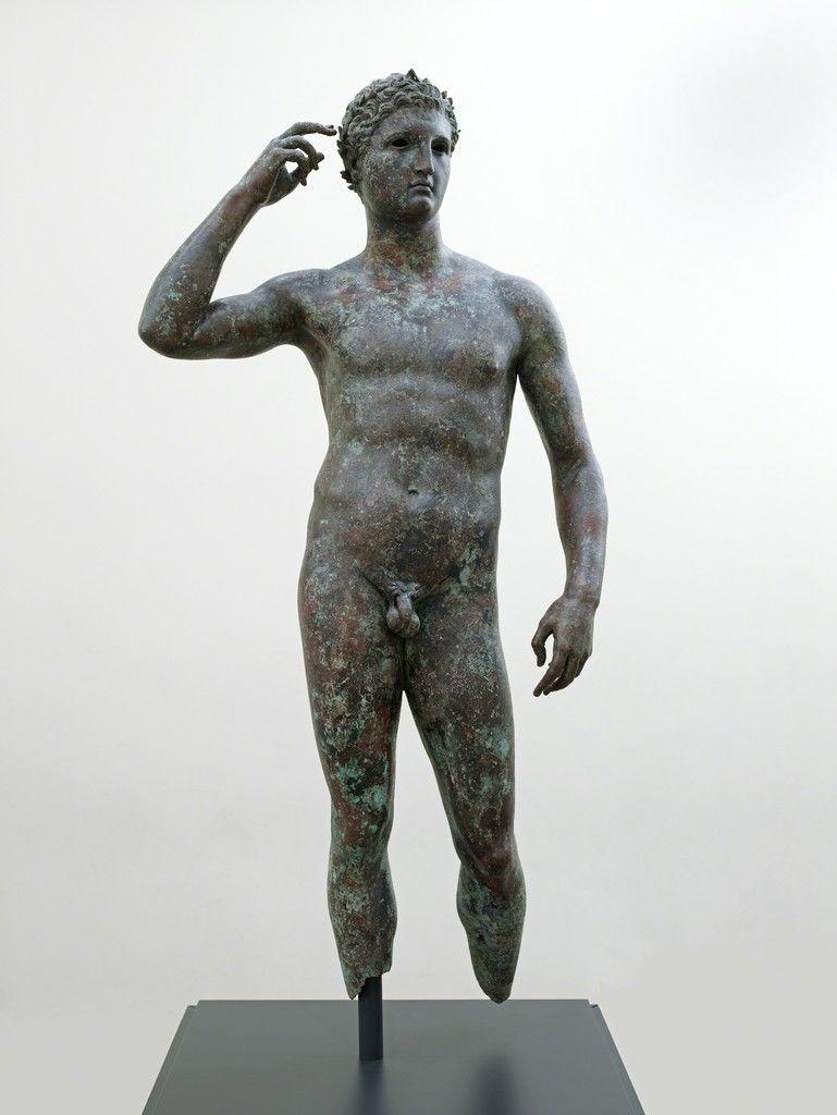 estatua griega escultura pene