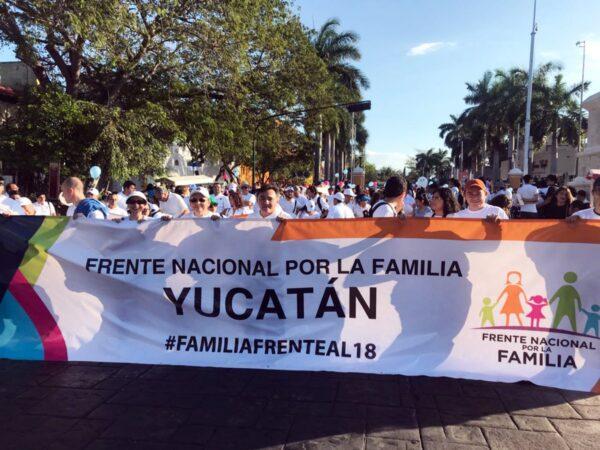 frente nacional por la familia yucatán