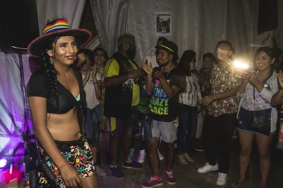 Gahela Cari candidata trans de Perú