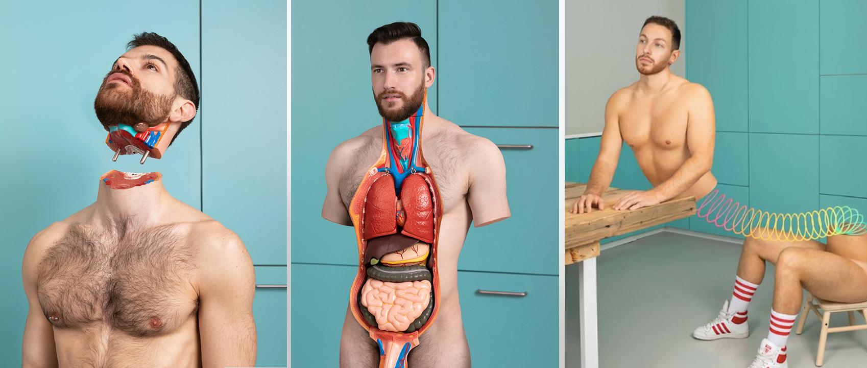 Serie Send Nudes de Jonathan Icher