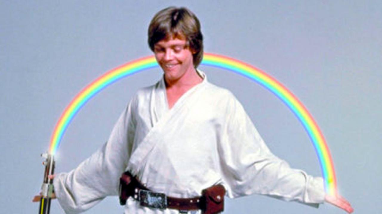 luke skywalker star wars lgbt mark hamill gay bisexual Twitter