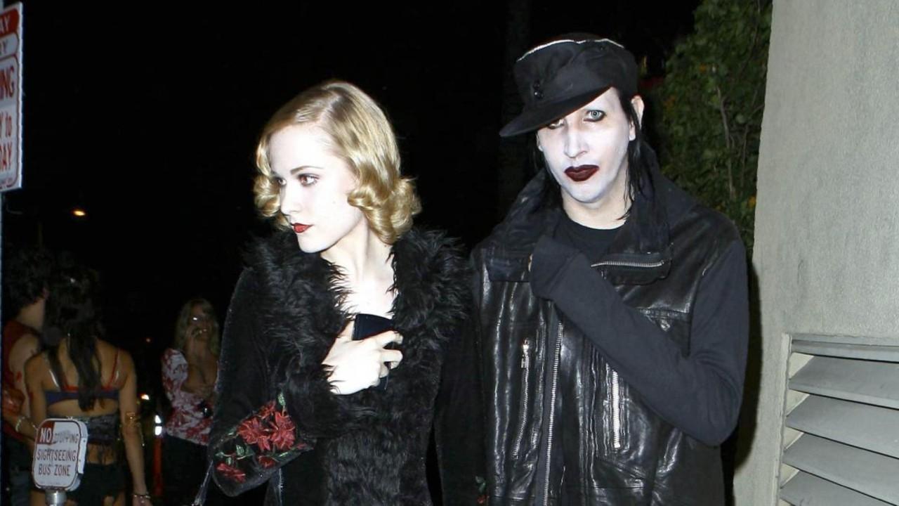 Evan Rachel Wood confirma que su agresor es Marilyn Manson