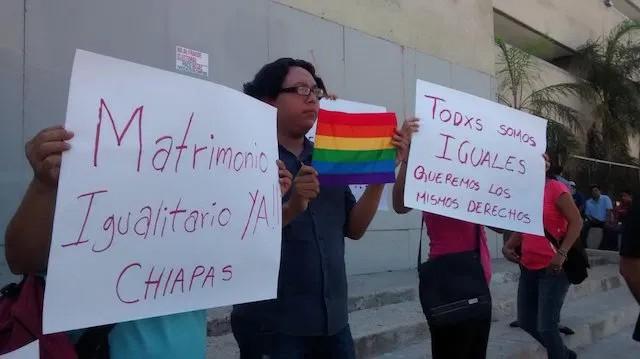 matrimonio entre personas del mismo sexo en Chiapas