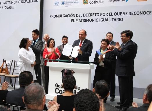 Coahuila es uno de los estados que reconocen el matrimonio igualitario
