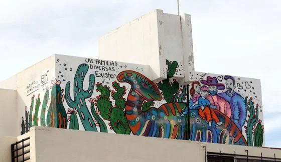 Mural de Natalia Blanco