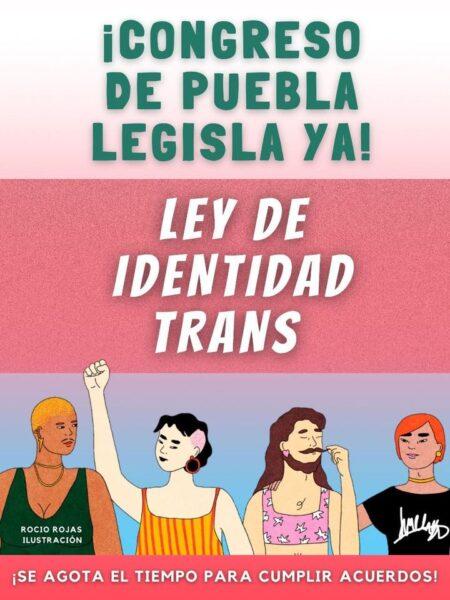 puebla ley agnes trans congreso activismo coatlicue siempre viva