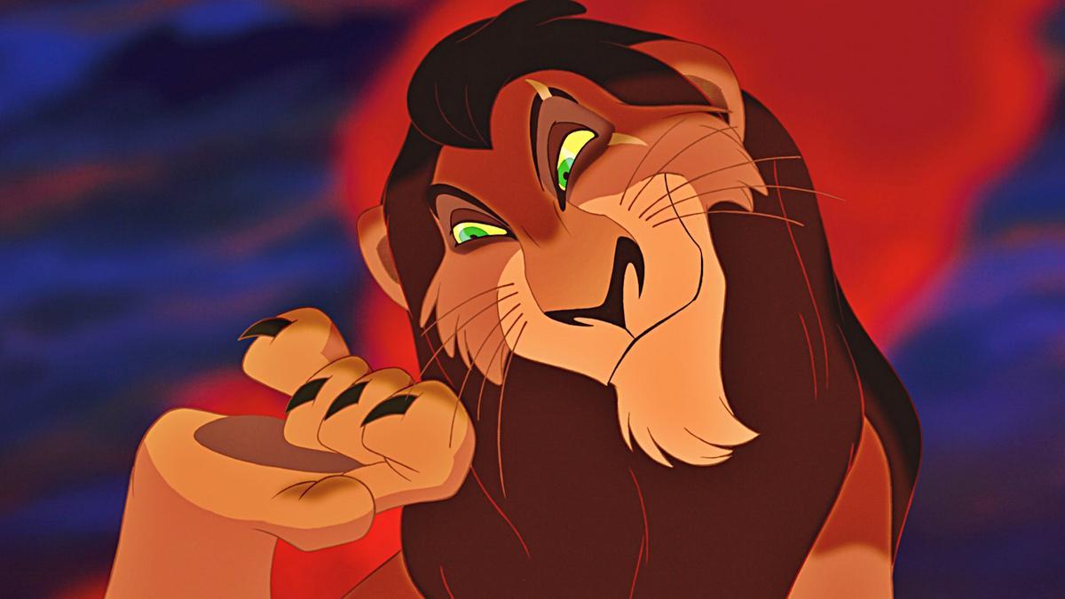 scar rey leon personaje disney