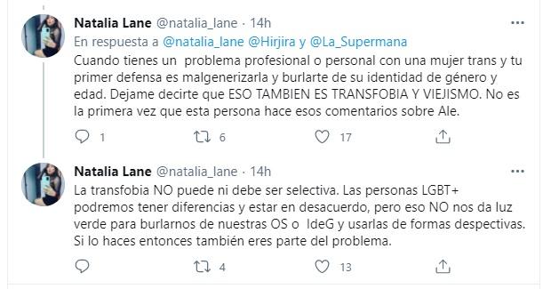 Transfobia de La Supermana